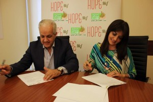 Dr. Cheaib & Dr. El Shohdi Signing